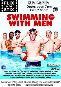 Flix in the Stix - Swimming With Men @ Lavenham Village Hall