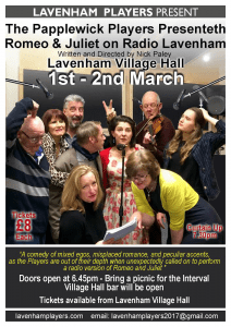 Lavenham Players Romeo & Juliet @ Lavenham Village Hall