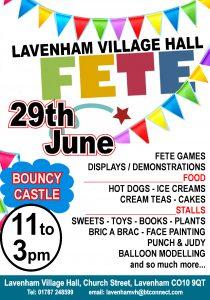 Village Fete @ Lavenham Village Hall